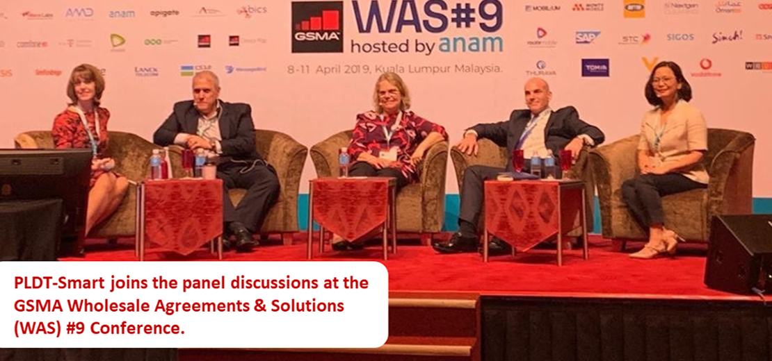 CONEXUS join GSMA Wholesale Agreements & Solutions Conference  Mary Alice Ramos from Smart delivered a keynote speech