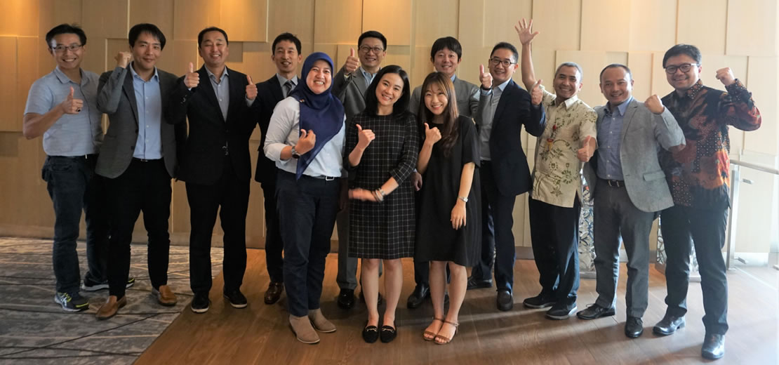 Conexus strategy meeting with Conexus Board Chair takes place in Jakarta, 16 October 2019